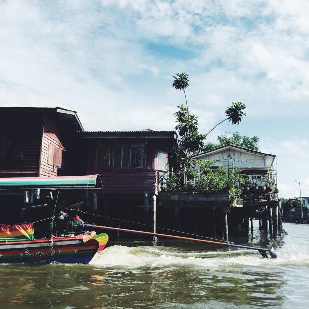 Bangkok by longtailboat