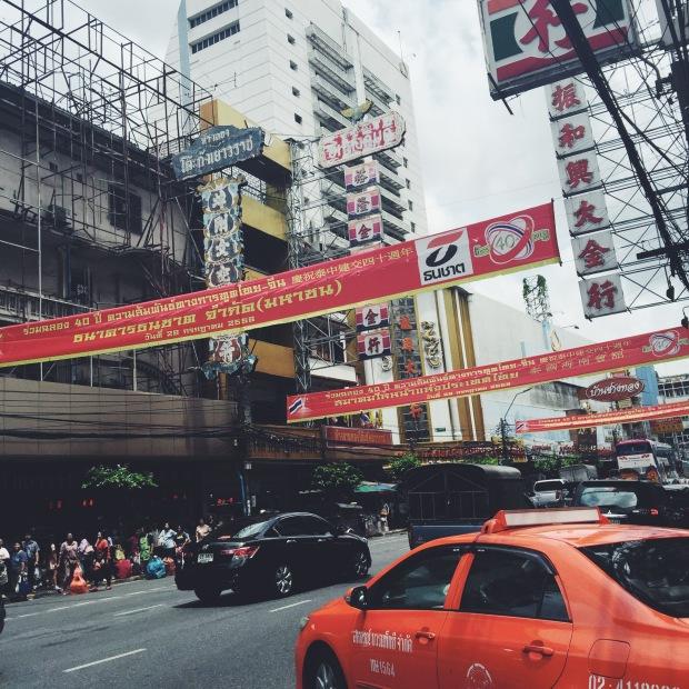 Bangkok by taxi